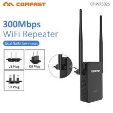 COMFAST CF WR302S Wireless WIFI Router Repeater 300M 10dBi เสาอากาศ Wi Fi Repeater 802.11N/B/G Roteador wi Fi Rang Wi Fi Extende