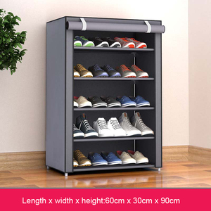 Nonwoven Fabric Simple Shoe cabinets Close to the Door Removable Shoe Rack Organizer Home Furniture Storage Cabinet Shoes Rack
