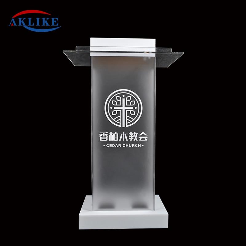 Pulpit Furniture Free Shipping Beautiful Sophistication Price Reasonable Cheap AKLIKE Acrylic Podium Lectern acrylic pulpit