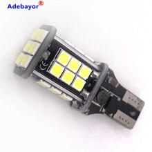 1x W16W T15 t10 LED Bulb 3030 24 SMD Canbus Error Free LED Backup tail Light  912  LED Bulbs Car Reverse Lamp White DC12V 24V