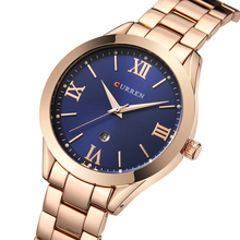 Hot Fashion Ladies Watches Top Brand Luxury Female Clock Rose Gold Stainless Steel Bracelet Quartz Watch Women Curren Watches luxury fashion gold women quartz watches top brand small dial female bracelet watch stainless steel mesh strap ladies writwatch