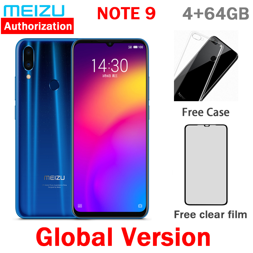 Instock Global Version Meizu Note 9 48.0MP Camera 4GB 64GB 128GB Snapdragon 675 Octa Core 6.2