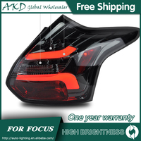 Tail Lamp For Car Ford Focus 2012 2014 Focus 3 Tail Lights Led Fog Lights DRL Daytime Running Lights Tuning Car Accessories