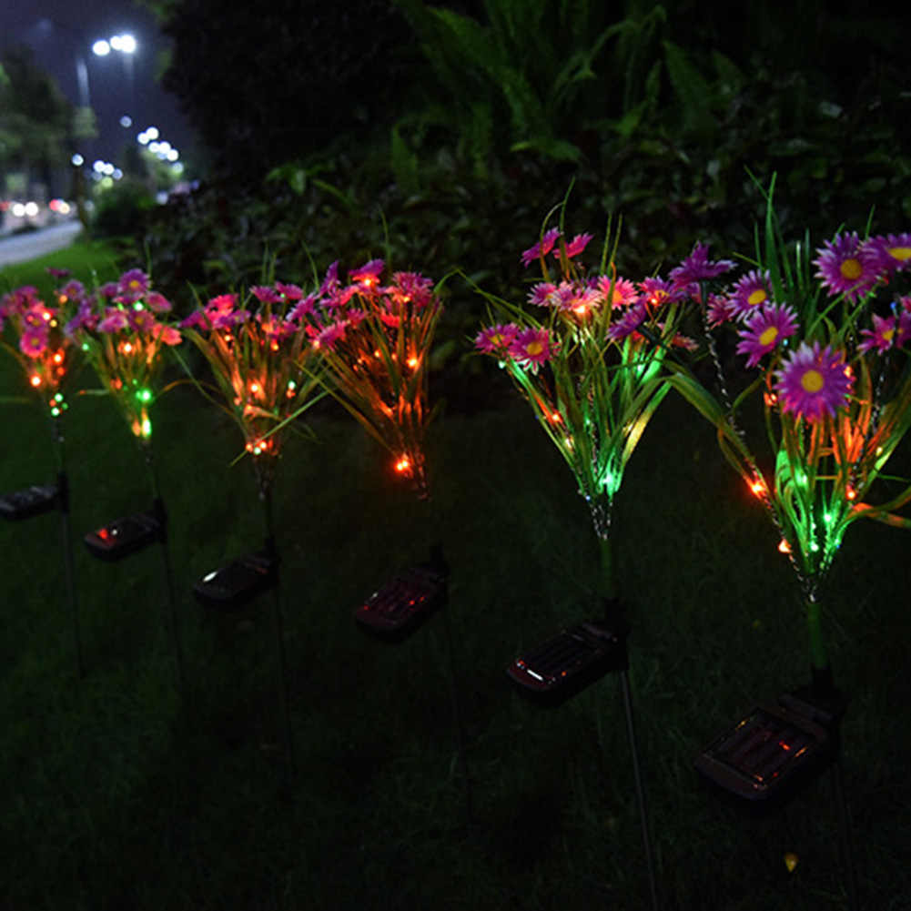 1Pcs/2Pcs Zonne-verlichting Grond Begraven Licht Outdoor Waterdichte Tuin Bloem Lamp Milieubescherming Gazon Decoratieve Lamp