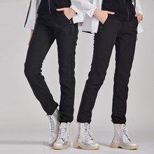 Зимние походные брюки женские флисовые наружные брюки мужские брюки для рыбалки водонепроницаемые брюки ветрозащитные походные флисовые треккинговые брюки