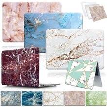 Caso do portátil de mármore para apple macbook air 13