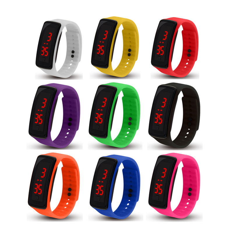 LED Digital Watches Men Waterproof Beautiful Watch 2021
