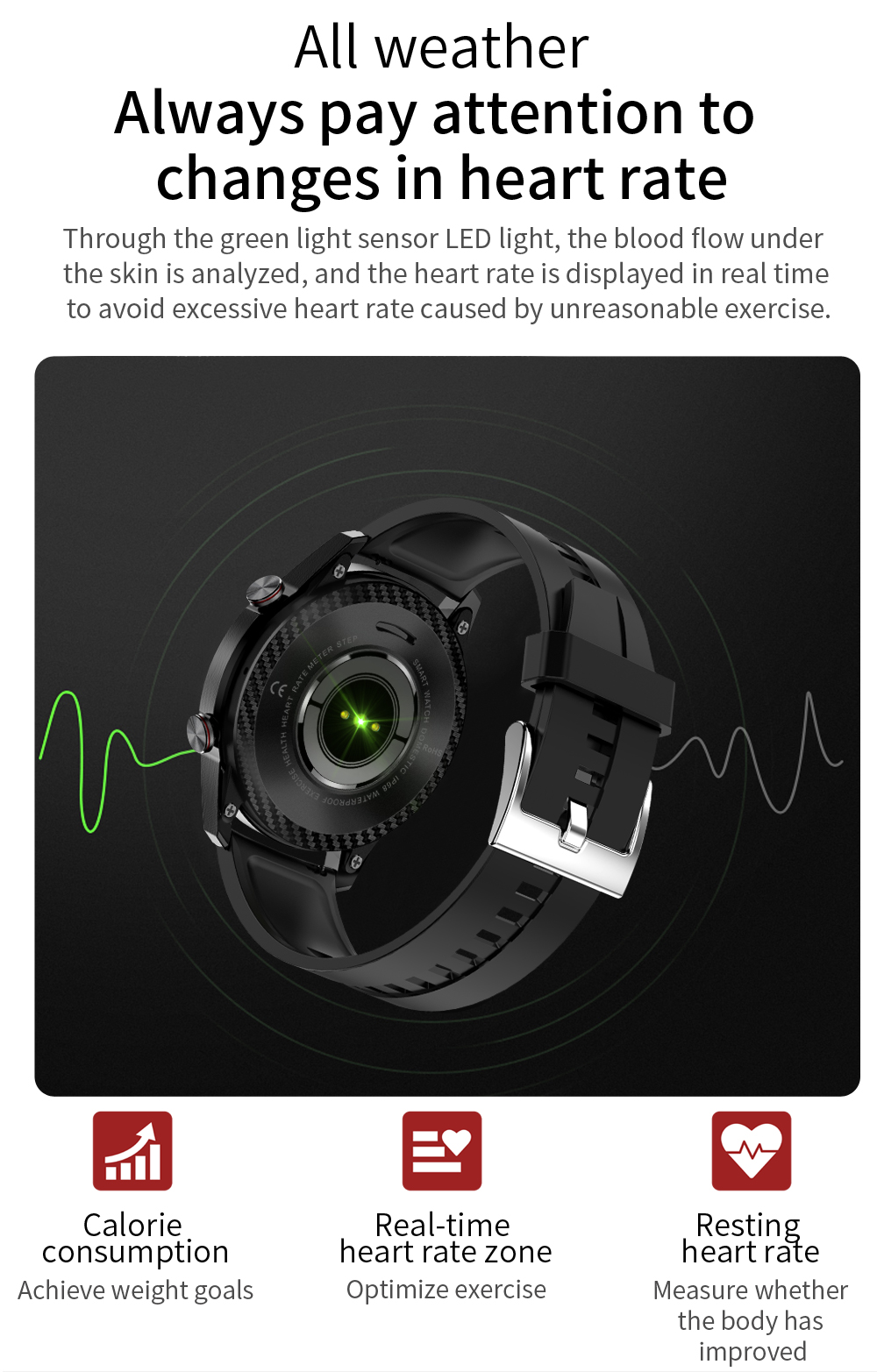 Hc108d61786a04ad8b2f07c7071961def9 New Smart Watch Men Bluetooth Call TK2-8 IP68 Waterproof Heart Rate Blood Pressure SmartWatch Fitness Tracker Sports Android IOS
