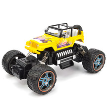 Racing Climbing Wireless Kids Gift Big Foot Portable Outdoor Toys Off-road Vehicle RC Car Damping Remote Control Two-wheel Drive(China)
