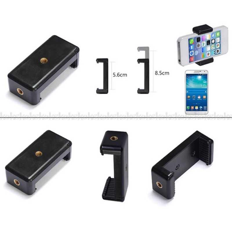 Kualitas Tinggi Selfie Stick/Kamera/Tripod/Stand Klip Adaptor Pemegang Clamp