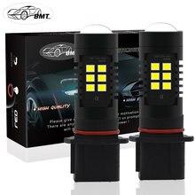 BMT P13W Led SH24W PSX26W LED Fog Lights Bulb 2835SMD 1200LM 6000K White Car Driving Running Lamp Auto Leds Light 12V 24V