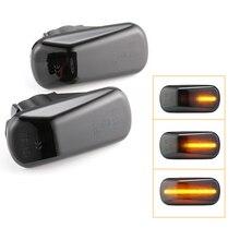2x Led dinamik yan Marker dönüş sinyal ışıkları flaşör Amber Honda Civic Acura Integra type r DC2 Accord RSX DC5 NSX NA1 NA2