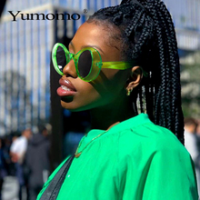 Oversized Punk Sunglasses Women Men 2020 Brand Designer Vint