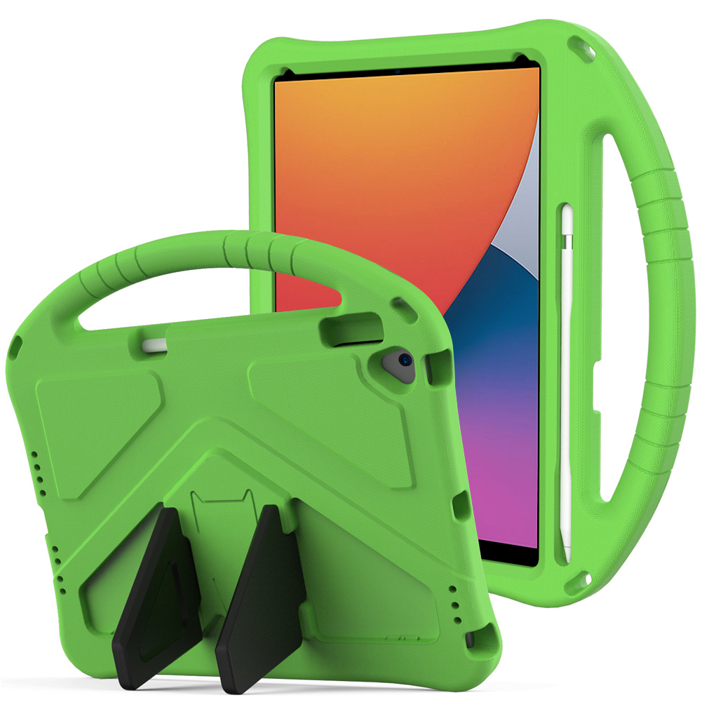 Palegoldenrod Palegoldenrod for iPad Air 4 Case 2020 A2316 A2324 EVA Safe Kids Handle Stand Tablet Case Cover