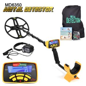 Image 2 - Underground Metal Detector Professional MD6350 Gold Digger Treasure Hunter MD6250 Updated MD 6350 Pinpointer LCD Display