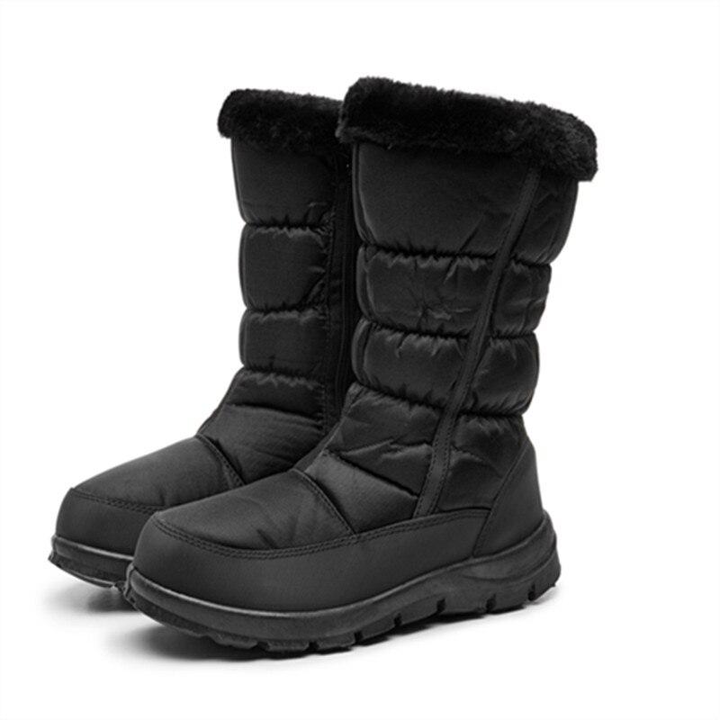 Зимние сапоги; Теплая обувь на платформе с мехом и бахромой; сапоги до колена на танкетке; женские кожаные сапоги; Bota; женская обувь
