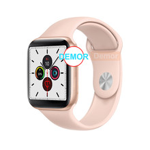 2020 demor iwo 12 pro relógio inteligente série 5 44mm 40mm masculino feminino smartwatch para apple ios 13 9 iphone 11 8 plus 10 android 4 telefone(China)