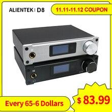 Усилитель для наушников Alientek D8, цифровой коаксиальный усилитель класса D, вход XMOS XU208, AUX 80 Вт