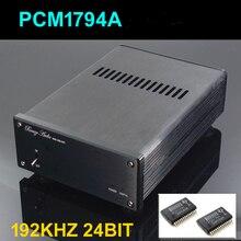Brise Double parallèle PCM1794 DAC HIFI Coaxial et fibre optique DAC Numériques Analogique Convertisseur WBA 1794 Décodeur