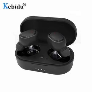 Image 1 - M1 HIFI TWS Bluetooth Earphone Waterproof IPX6 V5.0 Earphones Wireless Headphones For Android IOS With 350mAh Charging Box