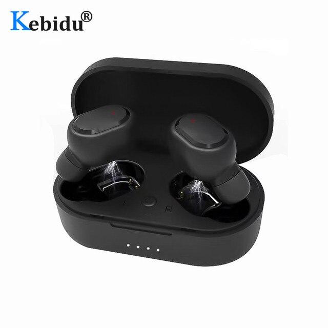 M1 HIFI TWS Bluetooth Earphone Waterproof IPX6 V5.0 Earphones Wireless Headphones For Android IOS With 350mAh Charging Box