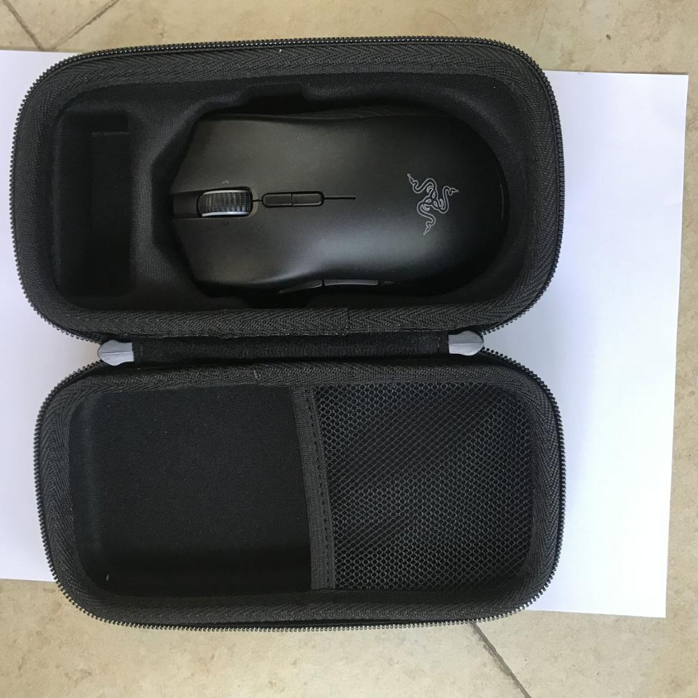 Travel Hard Protective Case Carrying Pouch Cover Bag For Razer Mamba Wireless Gaming Mouse / Razer Mamba HyperFlux Mouse