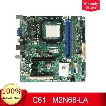 For HP C61 Desktop Motherboard 513426-001 513425-001 M2N68-LA AM2 DDR2 MB 100% Tested Fast Ship