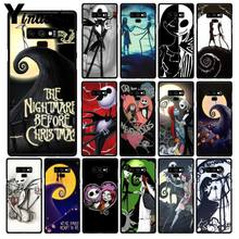 Yinuoda Martinetti Skellington The Nightmare Before Cassa Del Telefono di Natale Per Samsung Galaxy A50 Note10 Pro 7 8 5 J5 J7 prime J2prime(China)