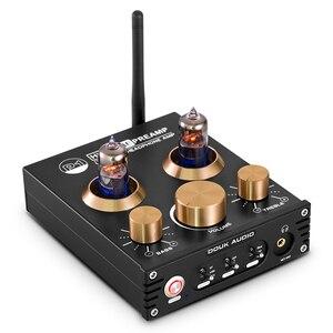 Image 2 - Douk audio HiFi Bluetooth 5.0 Buis Vacuüm Voorversterker USB DAC APTX Thuis Stereo Audio Voorversterker Hoofdtelefoon Amp