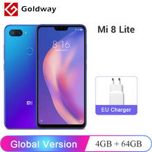 "Global Version Xiaomi Mi 8 Lite 4GB RAM 64GB ROM Mobile Phone Snapdragon 660 Octa Core 24MP Front Camera 6.26"" 19:9 Notch Screen(Hong Kong,China)"
