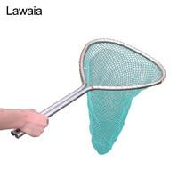 Lawaia Landing Net Fish Dip Net Fishing Supplies Net Cage Fishing Dip Nets Head Stainless Steel Short Copy Nets Rod Fishing Gear