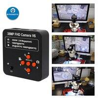 Cámara Digital de 38MP, 14MP, 16MP, HDMI, USB, c-mount, microscopio, cámara para laboratorio electrónico Industrial, teléfono, PCB, soldadura, Repai