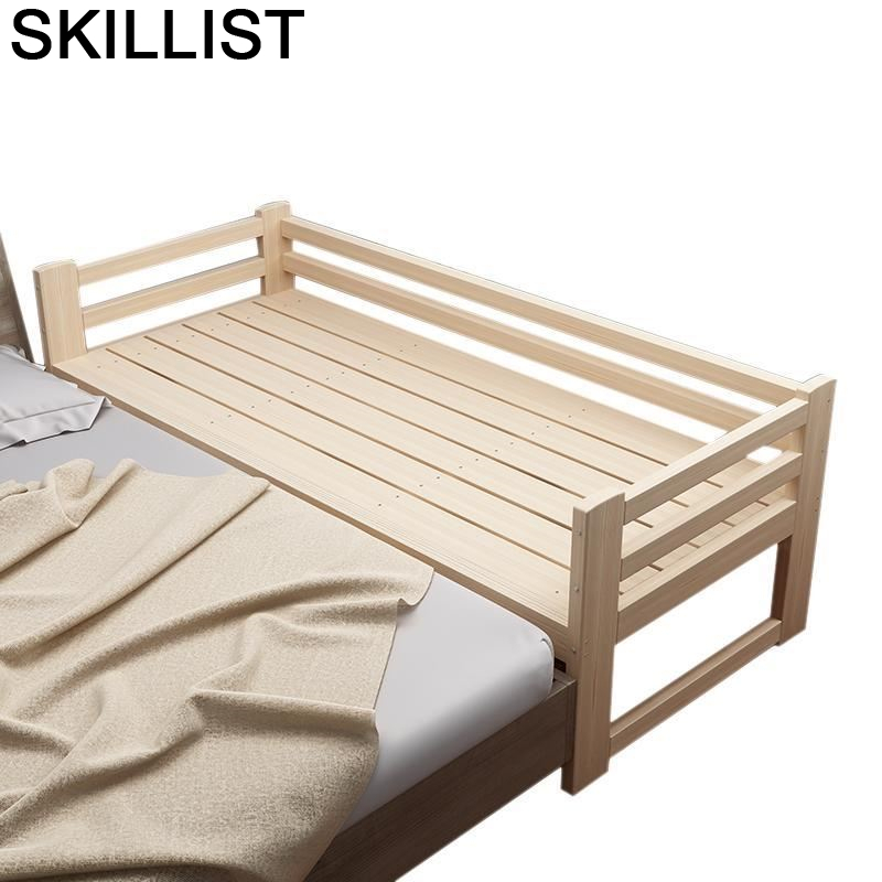 Infantiles Baby Crib Hochbett Toddler Mobili Ranza Kids Lit Enfant Bedroom Furniture Cama Infantil Muebles Wodden Children Bed