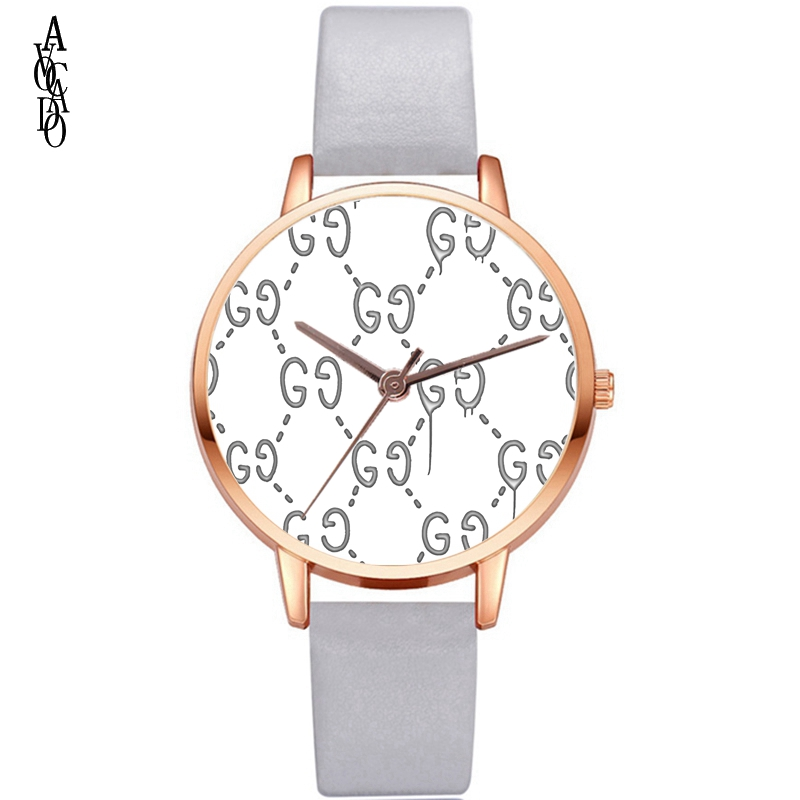 New Women's Watch Leather Strap Top Brand Luxury Women Watches Fashion Casual Ladies Quartz Wristwatch Hot Sale Montre Femme