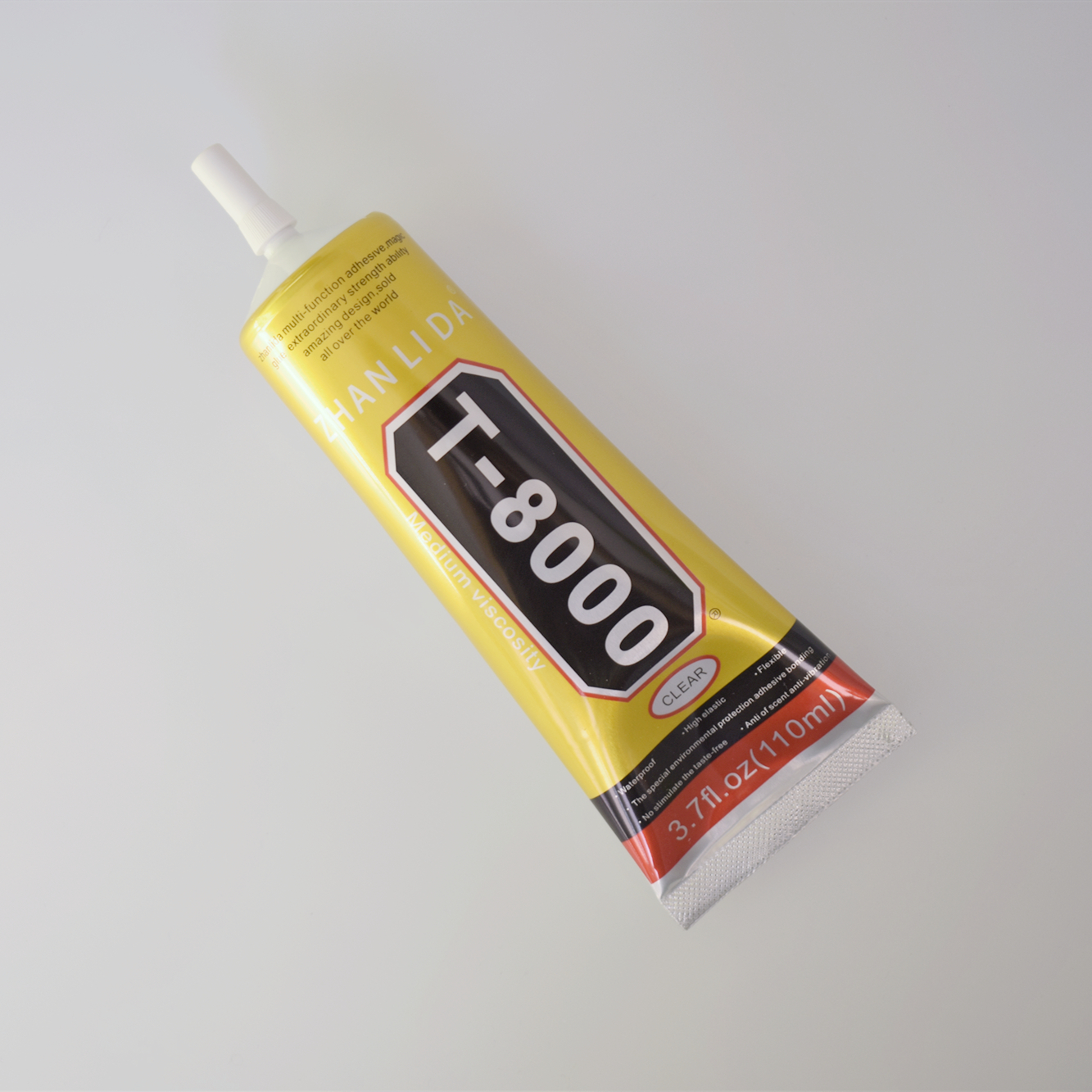 1 Pcs <font><b>110ml</b></font> T-8000 Glue <font><b>T8000</b></font> Multi Purpose Glue Adhesive Epoxy Resin Repair Cell Phone LCD Touch Screen Super Glue T 8000 image