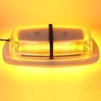 Car 72 LED 5730 SMD Roof Flashing Strobe Emergency Light DC 12V 24V LED Truck Police Fireman Warning Lights Amber Whtie Blue