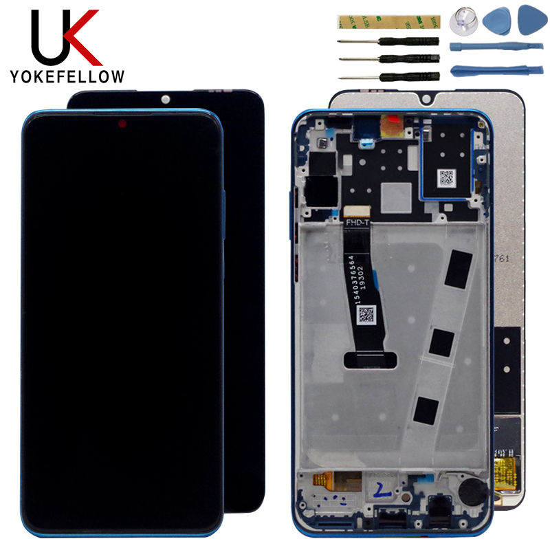 2312*1080 AAA <font><b>LCD</b></font> With Frame For HUAWEI <font><b>P30</b></font> Lite <font><b>Lcd</b></font> Display Screen For HUAWEI <font><b>P30</b></font> Lite Screen Nova 4e MAR-LX1 LX2 AL01 image