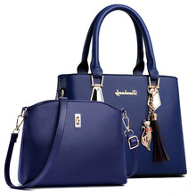 Fashion Woman Bag Female Hand Tote Bag Messenger Shoulder Bag  Lady HandBag Set Luxury Hand bag composite bag Designer bolsos