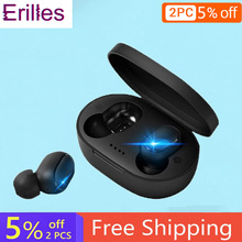 Origina A6S TWS Wireless Bluetooth Headset Earphones PK Xiaomi Redmi Airdots Headset Noise Cancelling Earbud for All Smart Phone