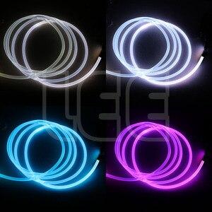 super bright PMMA optical fiber cable side glow 1.5/2/3/4mm diameter for Car LED Lights Bright Home DIY Light decoration