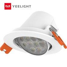 Yeelight YLSD04YL スマート 5 ワット 400LM 2700 6500 18k 天井ダウンライトメッシュ版の app 制御 AC220V yeelight スポットライト