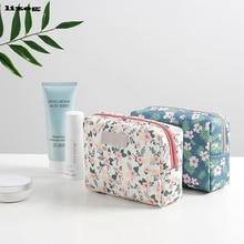 Mini Cute Cosmetic Storage Bag Travel Wash Waterproof Fashion Cotton