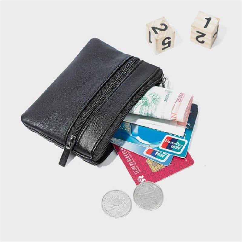Tobert Checkered Keychain Pouch Mini Coin Purse Wallet for Women