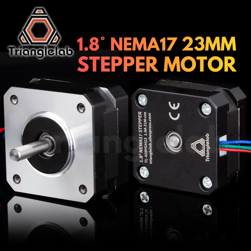 Trianglelab titan Stepper Motor 4-lead Nema 17 23mm 42 motor 3D printer extruder for J-head bowden reprap mk8