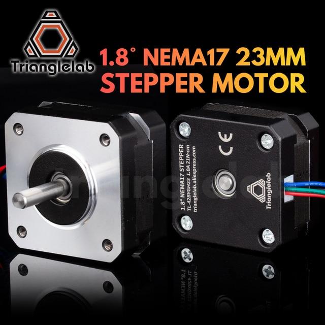 Trianglelab titan Stepper Motor 4 lead Nema 17 23mm 42 motor 3D printer extruder for J head bowden reprap mk8