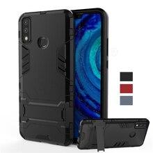 For Huawei Y8S Case Cover Y6S Y9S Y5p Y6p Y8p Y5 2017 Y7 Y9 Prime Pro 2018 2019 Robot Holder Shockproof Bumper Armor Phone Case