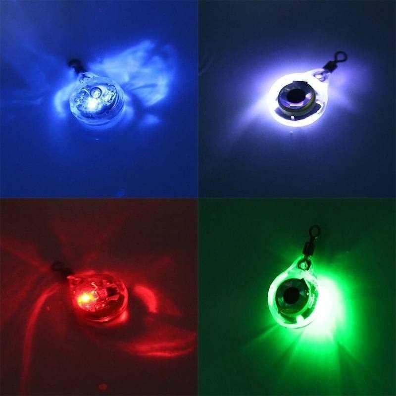 LED דיג פיתוי לילה אור סוללה מופעל זוהר מתחת למים למשוך מנורת דגי דיג פיתיון PR מכירה