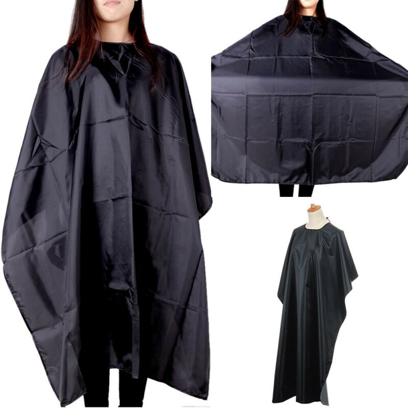 Unisex Professional Hair Cut/Cutting Salon Barber Hairdressing Gown Cape Apron Hair Coloring Products
