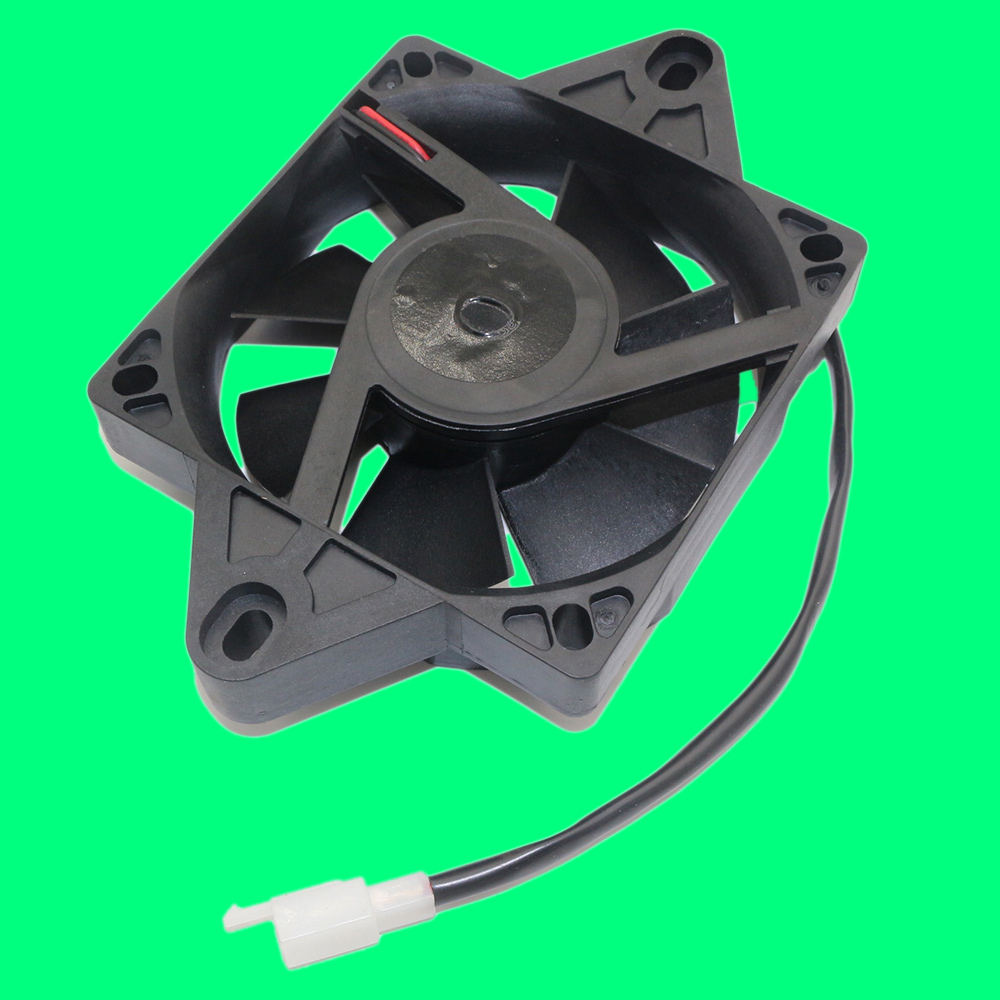 Black ABS Speed Oil Water Cooler New Electric Radiator Cooling Fan 19x13x4CM