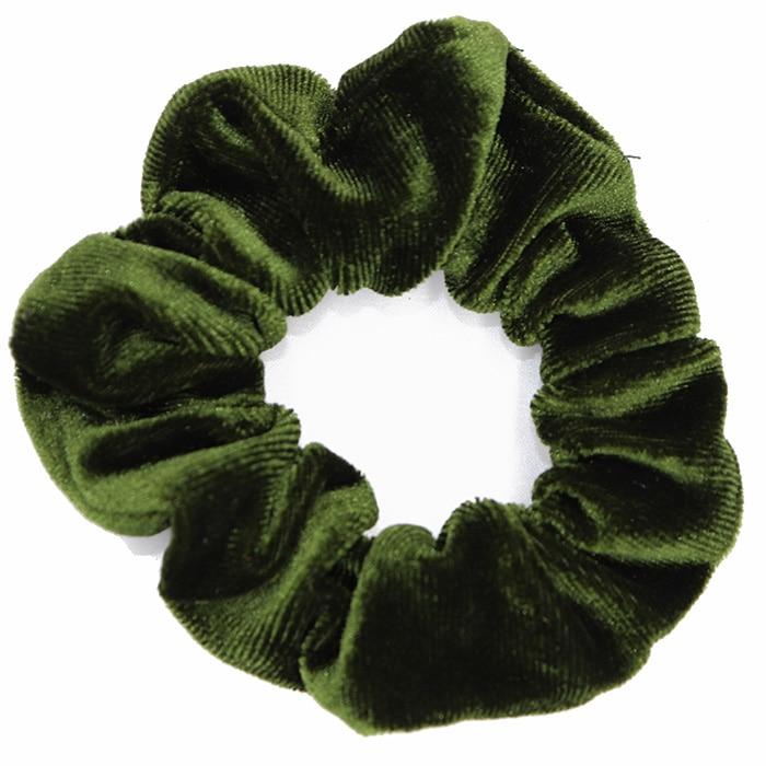 Velvet-Army green